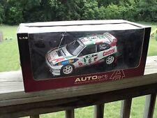 1:18 Autoart Toyota Corolla WRC RARE