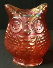 Carnival Glass Owl