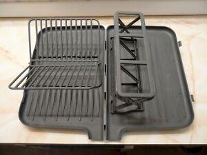 Farberware folding dish rack with spout