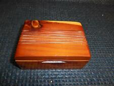 Old MOREHEAD KENTUCKY Cedar Chest trinket Box Dresser Jewelry Travel Souvenir