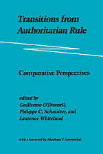 Transitions from Authoritarian Rule: Comparative Perspectives-ExLibrary