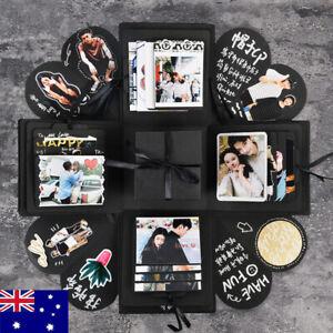 Surprise Explosion Box Love Memory DIY Photo Album Anniversary Gift AU STOCK