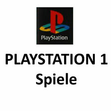 PS1 Spiele Games mit OVP & Playstation 1 CD