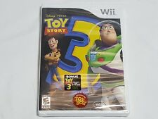 NEW (Read) Toy Story 3 Nintendo Wii Game w/ Bonus Songs & Story CD SEALED NTSC