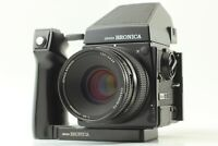 【EXC+5】 ZENZA BRONICA GS-1 AE Finder PG 100mm F3.5 Lens 120 Film Form JAPAN 1659