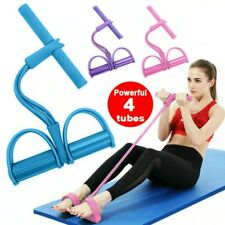 Indoor Fitness Resistance Bands Exercise Equipment Elastic Sit Up Pull Rope Gym