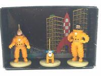 tintin figurine plomb tintin milou haddock état neuf emballage origine herge