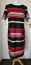 GOEGEOUS BOLD STRIPED TUNIC DRESS BY WALLIS UK 14