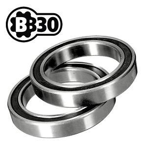 BB30 PF30 Bottom Bracket Bearings •SRAM FSA Truvativ Quarq •RS Bearings •Pair
