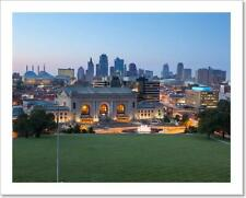 Kansas City. Art Print / Canvas Print. Poster, Wall Art, Home Decor - J