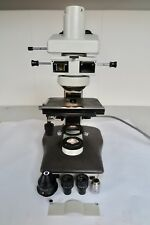 Nikon LABOPHOT-2 Trinocular Microscope,CFWN 10/20 Eyepieces,PH2 20/0.40DM PARTS