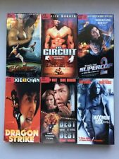 Lot of 6 Mixed VHS Tapes Movies Action Martial Arts Jackie Chan Best The Best