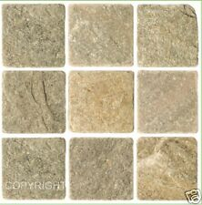 Mosaic tile stickers transfers travertine stone KITCHEN BATHROOM peel and stick