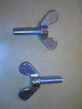 2 X M6 X 20 mm 6x20 alemán hizo DIN316 Tornillo De Mariposa Tuerca de mariposa Perno Tornillo de orejas