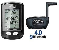 POSMA DB2 Bluetooth GPS Cycling Computer Bundle w/ BCB20 Speed/Cadence Sensor
