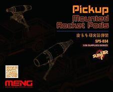 MENG 1/35 Pickup Mounted Rocket Pods (Résine) # SPS-034
