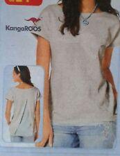 cooles KangaROOS Sport Shirt M offener Rücken Cut Chiffon Einsatz im Rückenteil
