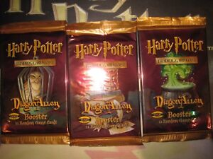 HARRY POTTER TCG CHEMIN DE TRAVERSE DIAGON ALLEY ENGLISH 3X BOOSTER ALL ARTWORKS