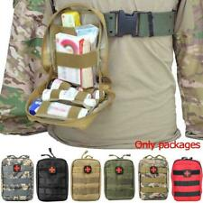 Molle EMT Emergency Survival Tactical First Aid Kit Pouch Outdoor Bag E3B0