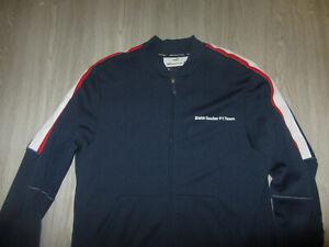 PUMA Sainer F1 Team BMW Tracking Jacket Coat M Navy Blue Pro Racing Retro Rare