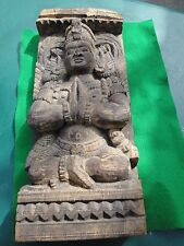 Vintage wood sculpture from India.Hand carved.