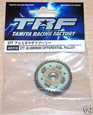 Tamiya 42310 37T Aluminum Differential Pulley (*TRF418/TRF419/TRF419X/TA07), NIP