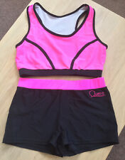 Lovely Girls Quatro Crop Top & Shorts Set Size 36 Age 15+ (AME)