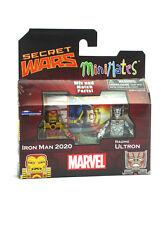 Marvel Minimates Iron Man 2020 & Raging Ultron Series 21 Toys-R-Us Secret Wars