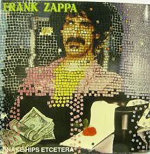 "FRANK ZAPPA ""SNAKE HIPS ETCETERA""  double lp live mint"