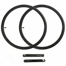 """2Pcs  24"""" inch Inner Bike Tube 24x1.95-2.125 Bicycle Rubber Tire Interior BMX"""