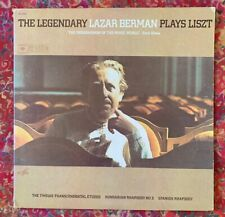 The Legendary LAZAR BERMAN Plays LISZT - Melodya 2 NM LPs