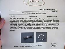 Two 18 carat gold diamond rings from Cronin Jewelers size 4 1/4