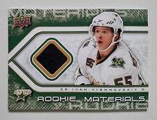 IVAN VISHNEVSKIY 2009-10 UD Series 2 Rookie Materials Jersey #RM-IV Dallas Stars