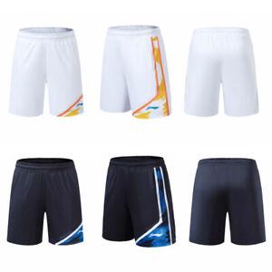 New Li Ning men Badminton Sport shorts Tennis pants