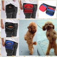 Dog Pet Snack Obedience Agility Bait Training Food Treat Pouch Reward Bag Holder