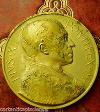 relic reliquia medal MEDAGLIA APERTURA PORTA SANTA GIUBILEO 1950 PIO XII
