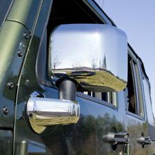 Kit d'enjoliveurs de rétroviseurs chromé Jeep Wrangler JK