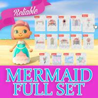 AnimalCrossing New Horizons Mermaid Furniture Set + DIY + New Clothing  + EXTRAS