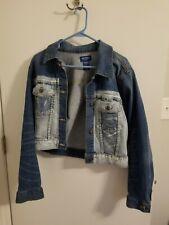 Arizona denim jacket size large cropped