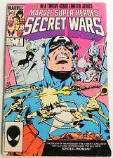 ESAR4068. MARVEL SUPER HEROES SECRET WARS #7 2.5 GD+ (1984) 1st App SPIDER-WOMAN