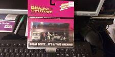 Johnny Lightning Back To The Future Delorean Time Machine Diorama 2002