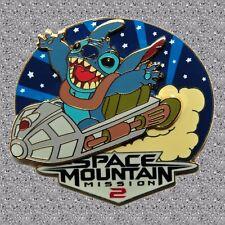 Stitch at Space Mountain Pin - Invasion Series - DLP  Disney Pin LE 1200