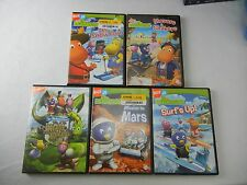 Nickelodeon Jr The Backyardigans DVD Lot (5)