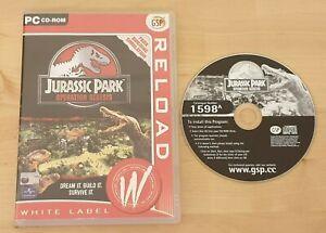 Jurassic Park: Operation Genesis (PC: Windows, 2003) Excellent Condition