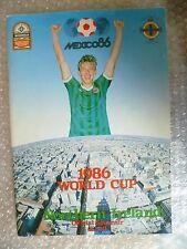Mexico 86- 1986 World Cup Northern Ireland Official Souvenir Programme (Exc Org*