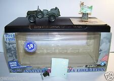 SOLIDO 50th MILITAIRE MILITARY DODGE WC56 COMMAND CAR US 44/94 LIBERATION FRANCE