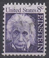 USA Briefmarke gestempelt 8c Albert Einstein / 2531