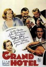 Grand Hotel Poster Joan Crawford Greta Garbo Lionel Barrymore OLD MOVIE PHOTO