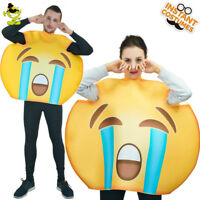 Emoticon Costume Adult Unisex Cry Emoticon Costumes Halloween Party Fancy Dress
