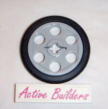2x Lego Technic Wedge Belt Tire 9467 Ghost Train Pulley Steering Wheel